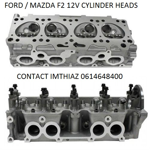 FORD / MAZDA (F2) 12V  CYLINDER HEADS (BRAND NEW)