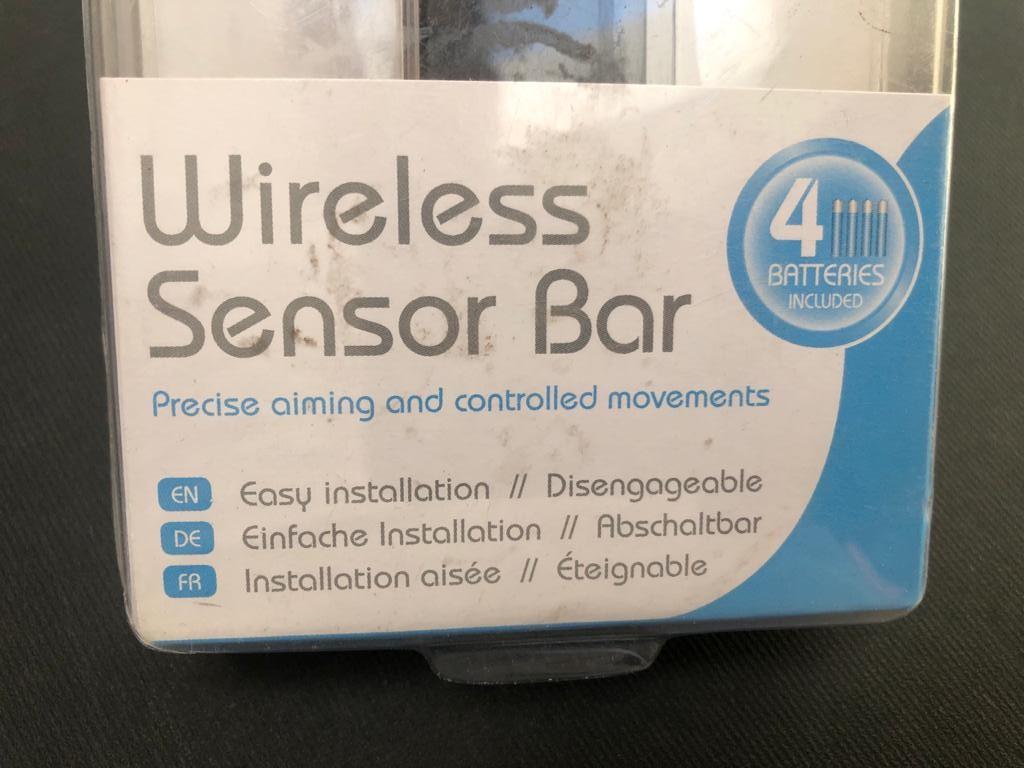 Speedlink Wireless Sensor Bar for Nintendo Wii consol - new and unused