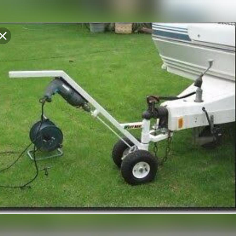 Easy move for caravan