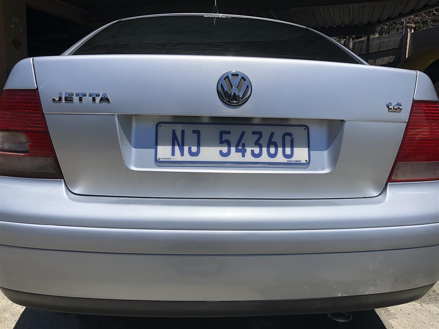2005 VW Jetta 1.6 Comfortline