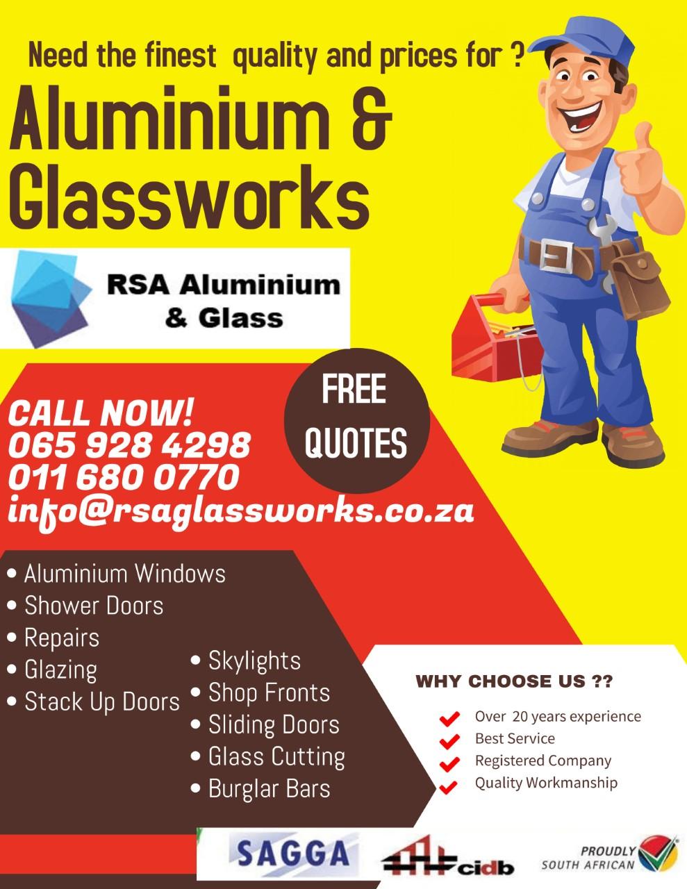RSA GLASS WORKS