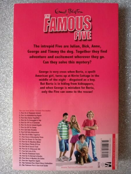Five Have Plenty Of Fun - Enid Blyton - Famous Five #14.