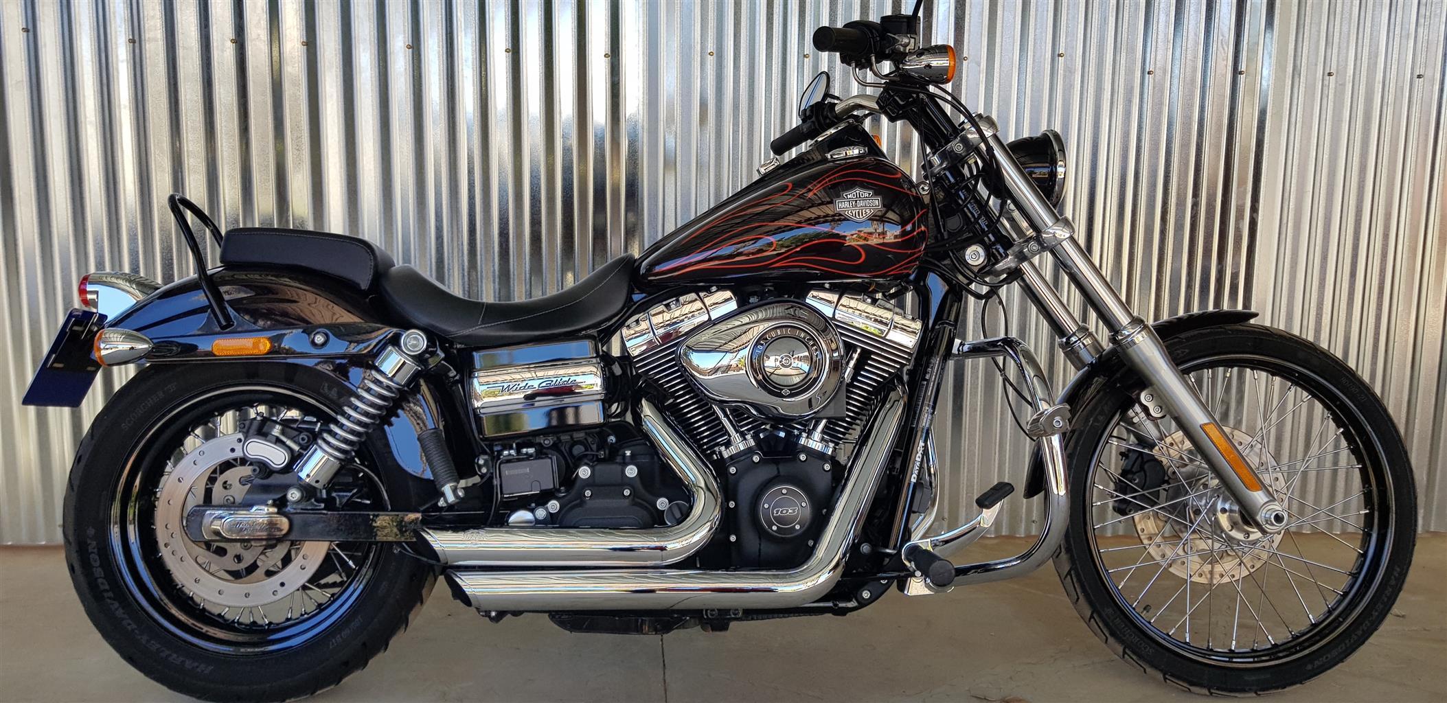 2014 Harley Davidson Dyna Wide Glide