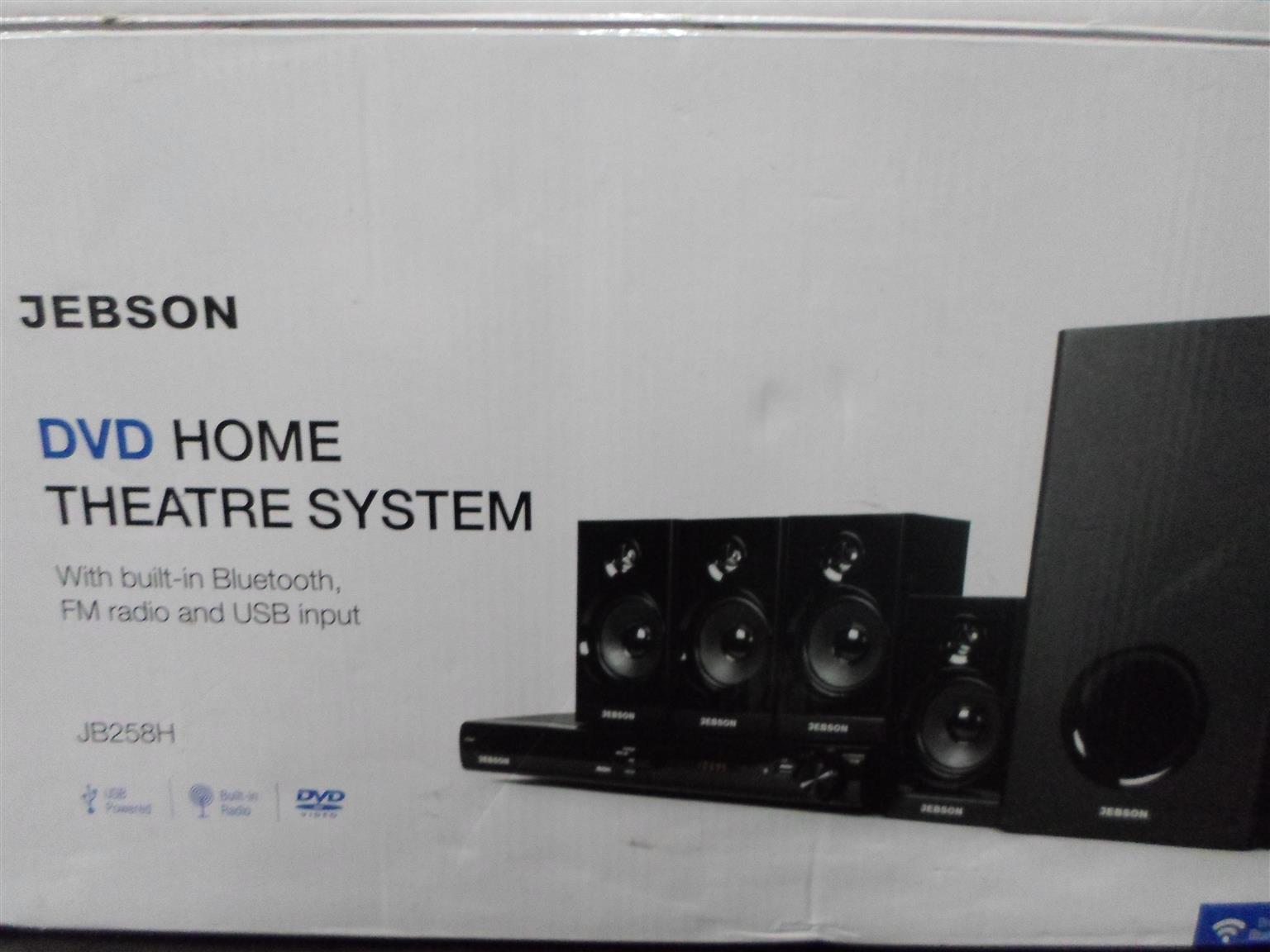 JB258H Jebson DVD Home Theater System