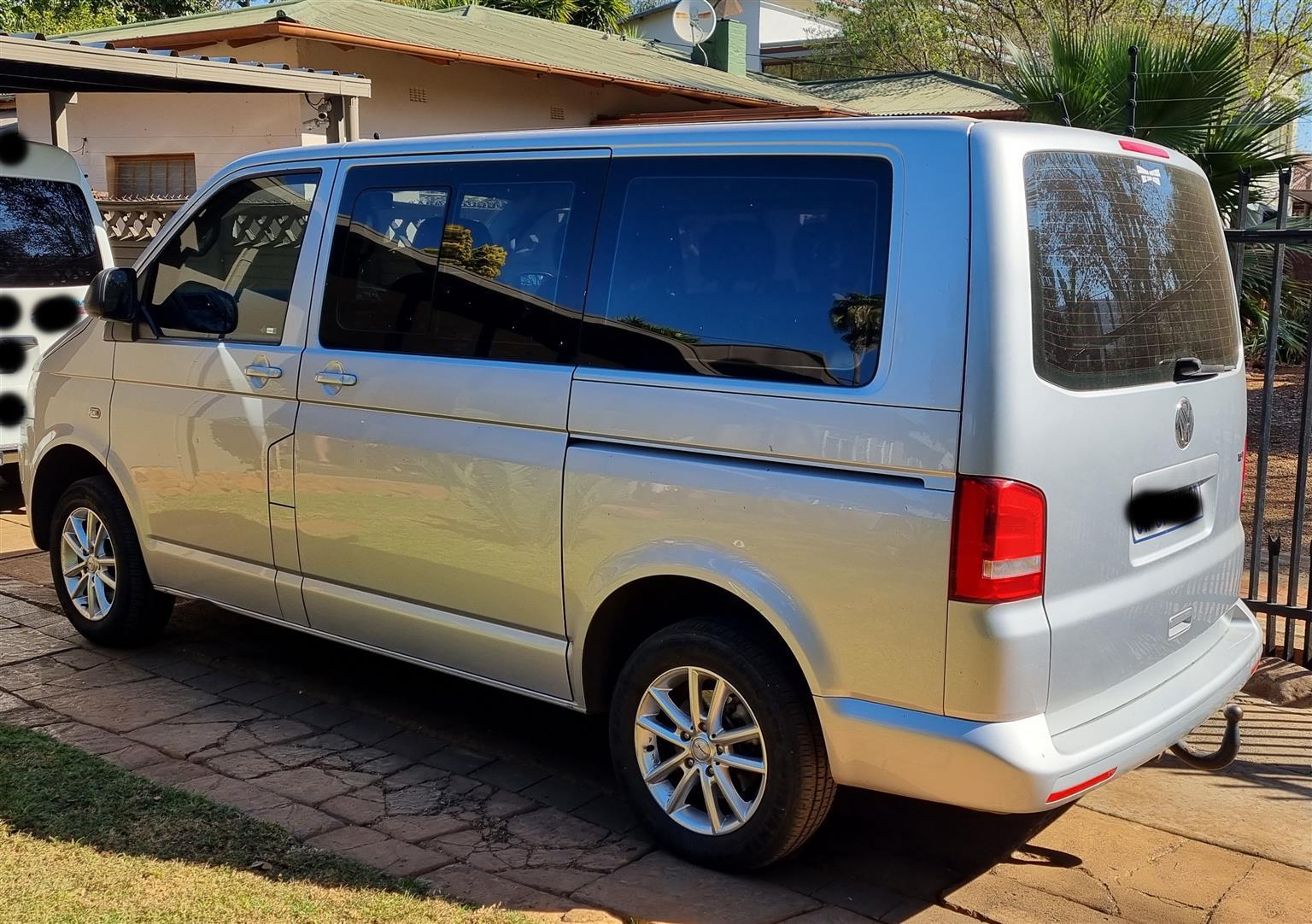 VW Kombi 2.5 TDI 2014