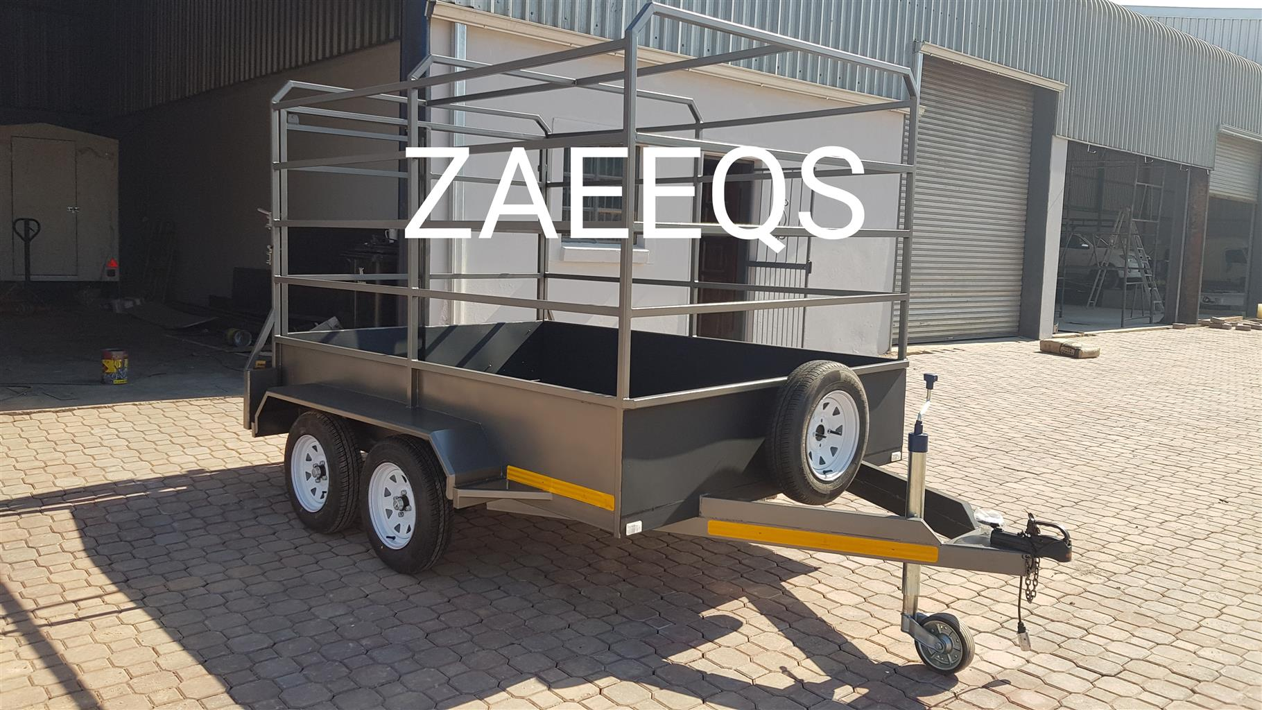 Cattle Trailers...Brand New... Includes Free Sparewheel!