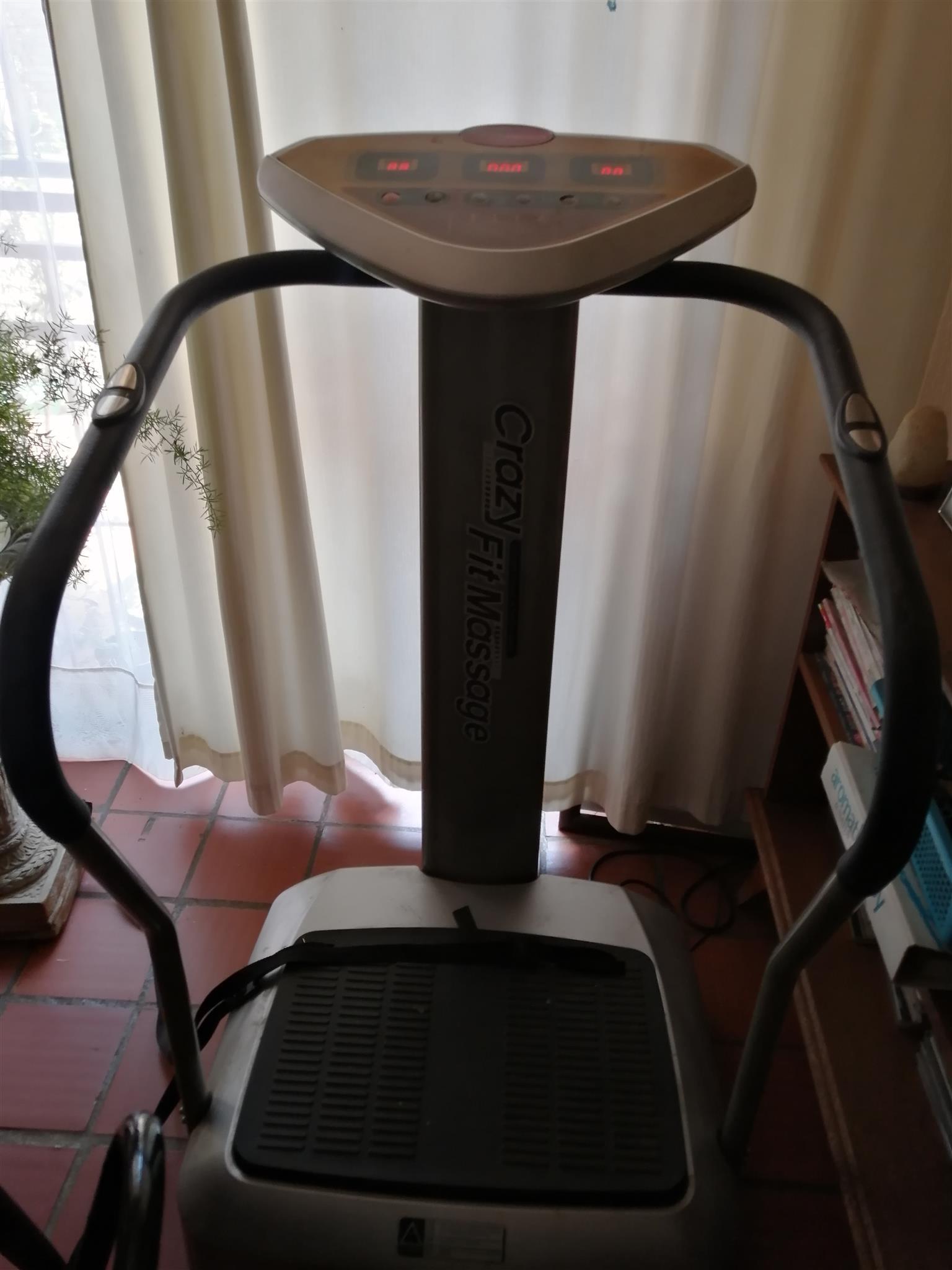 Crazy fit machine