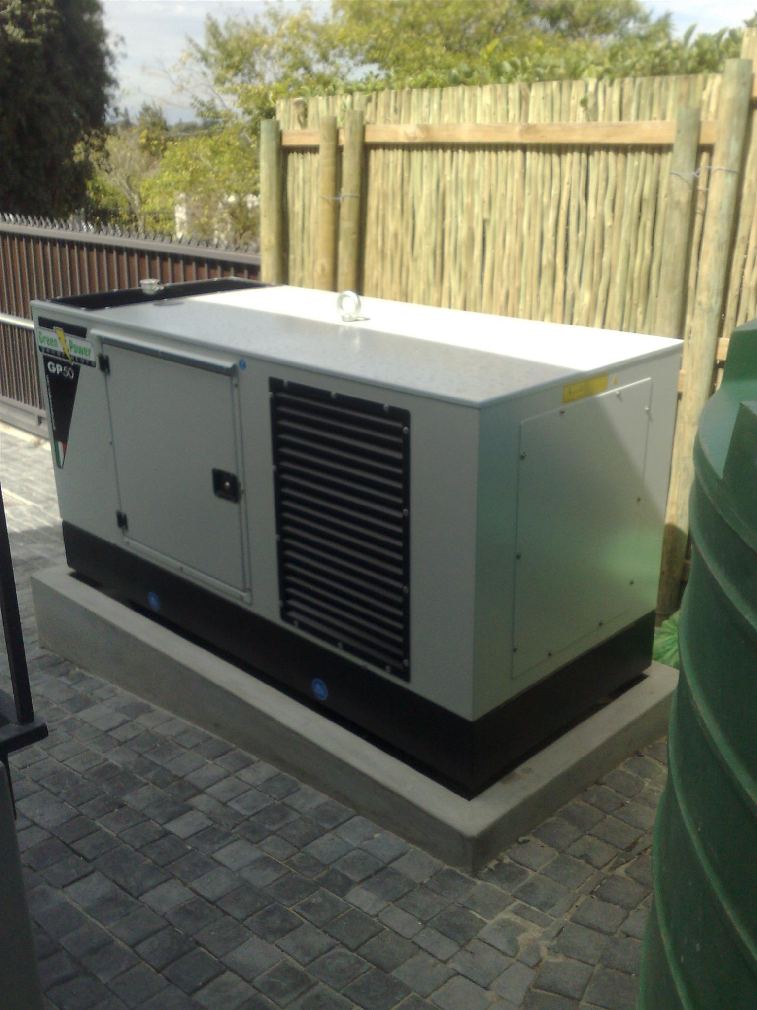 Generator Supply, Service, Repairs, Refueling, Monitoring & Management