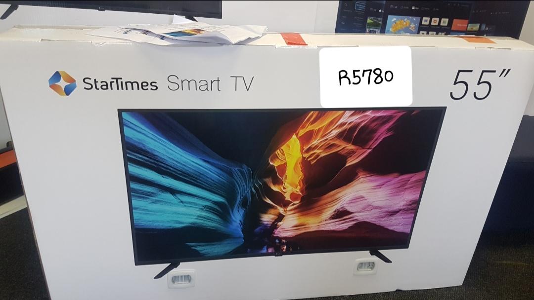 """55"""" smart TV on sale"""