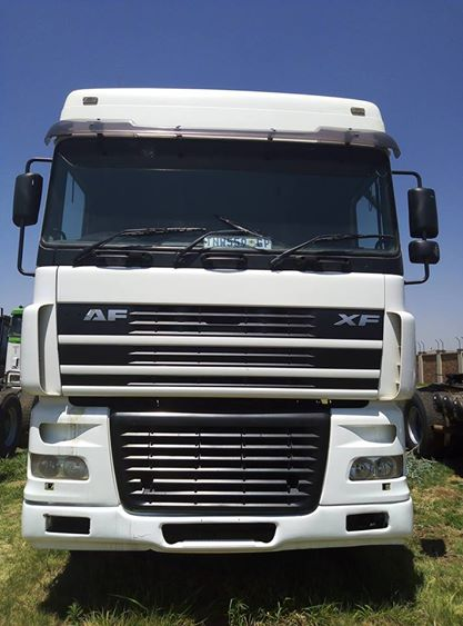 Daf truck on smashing deal