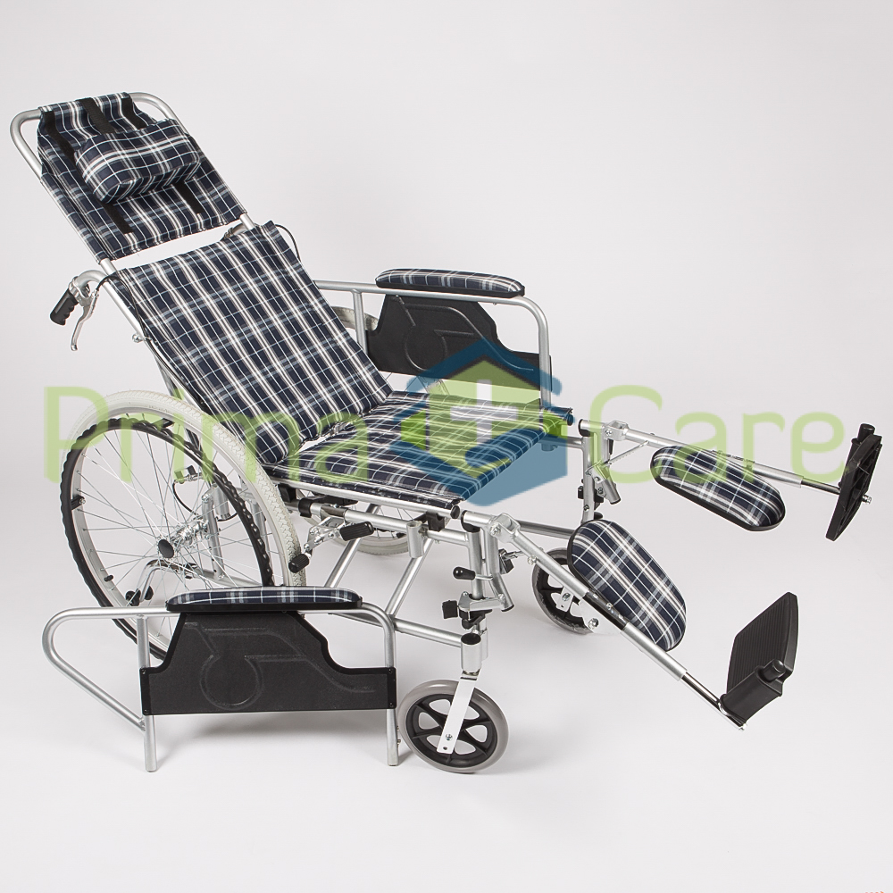 Lightweight Recliner Wheelchair, Aluminium Frame. On Sale, FREE DELIVERY.