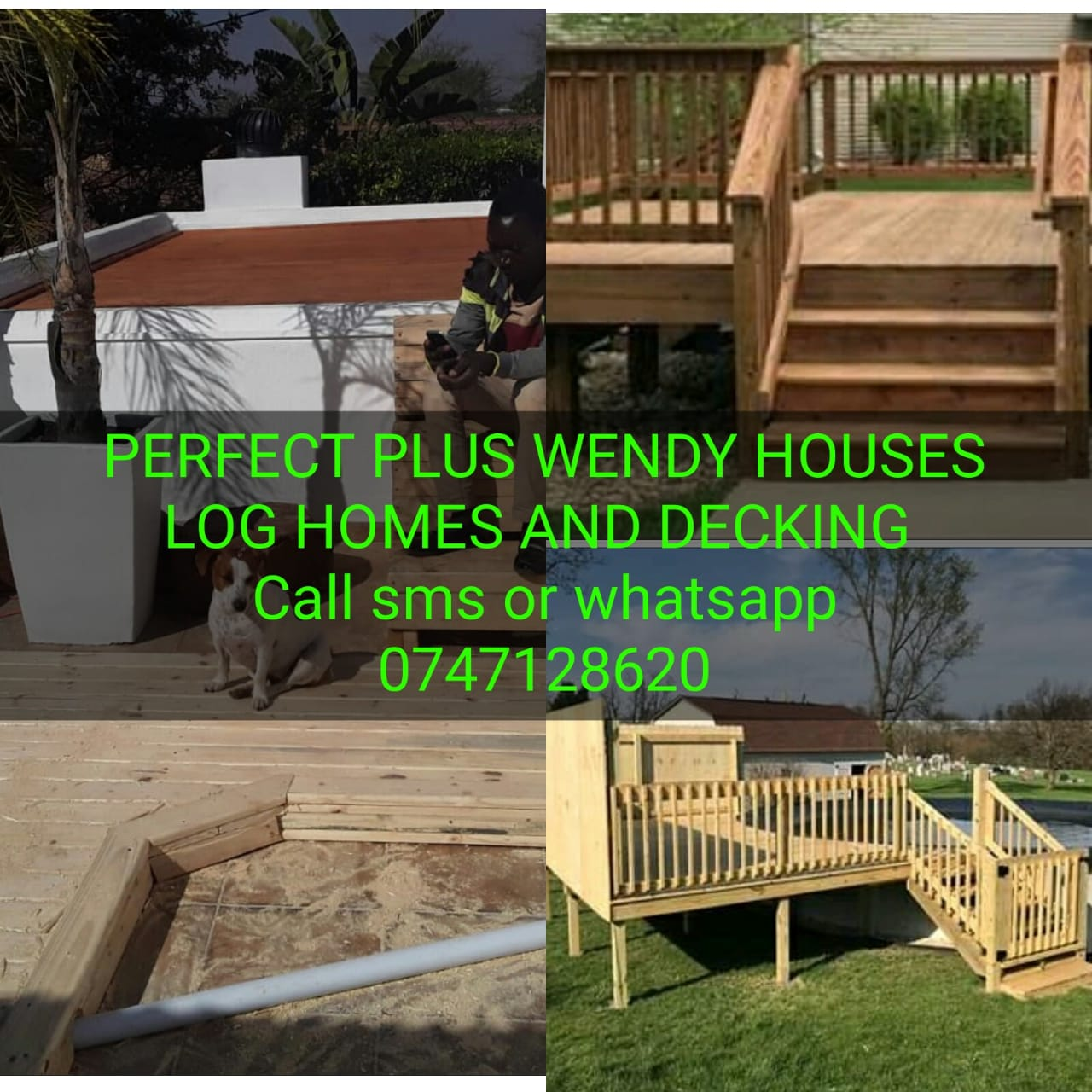 PERFECT PLUS WENDY HOUSES LOG HOMES AND DECKING
