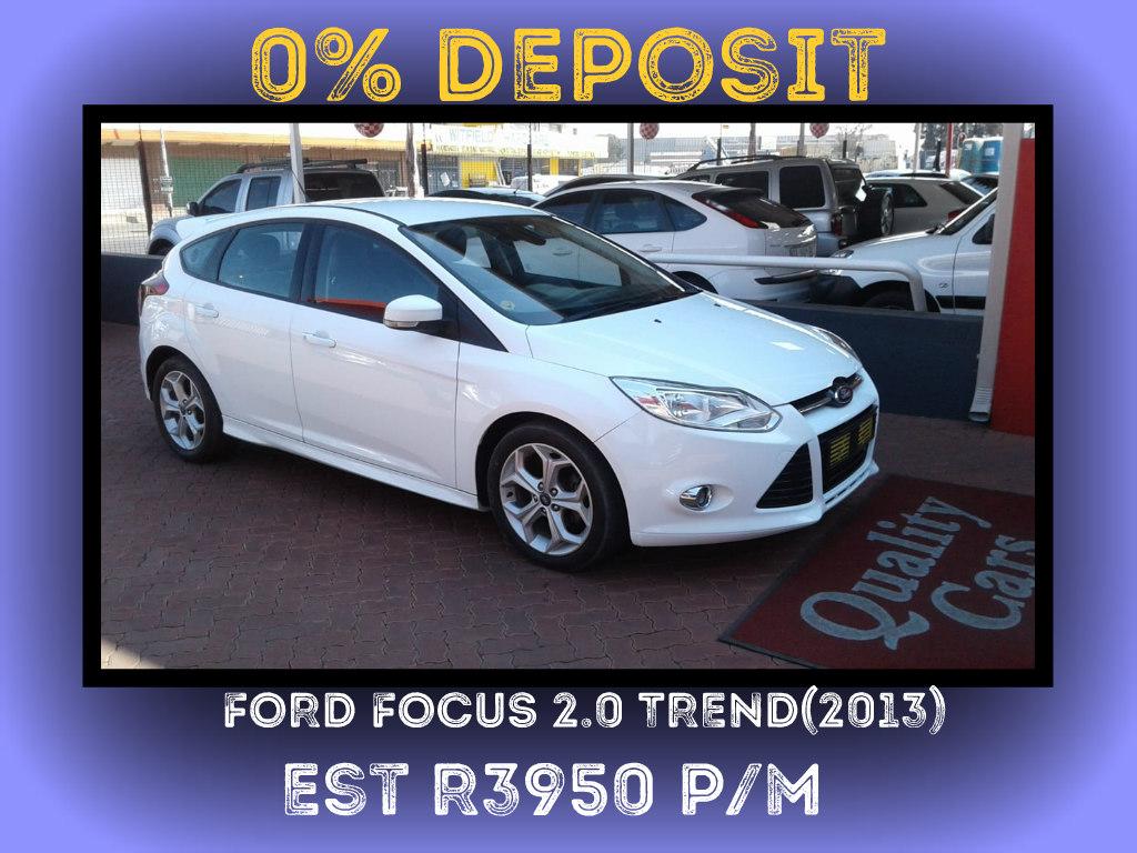2013 Ford Focus 2.0 4 door Trend automatic