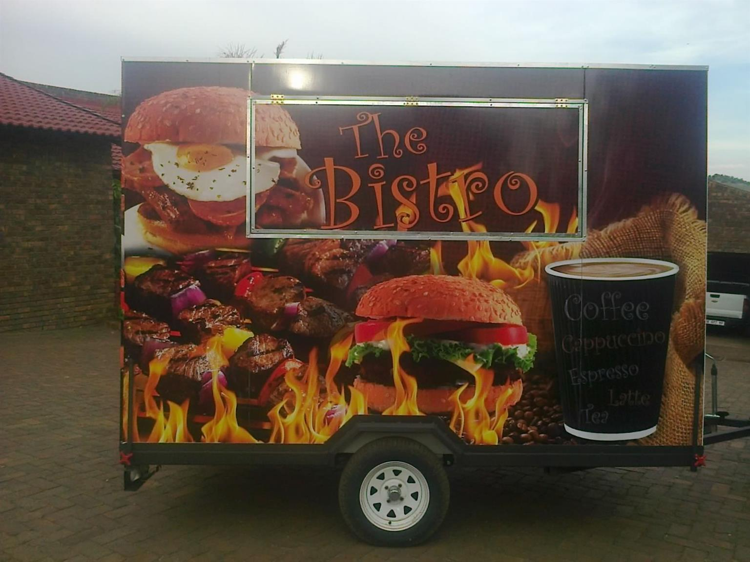 Mobile Kitchen pop up restaurant trailers for sale