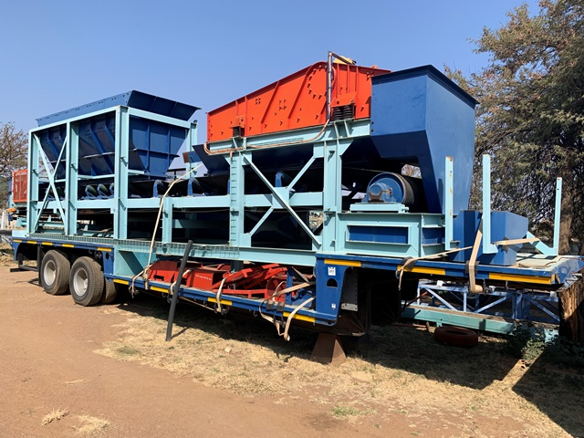 Private Treaty Sale Of Mobile DMS, Processing Plants And Mining Machinery