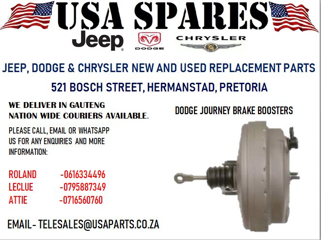 DODGE JOURNEY BRAKE BOOSTERS (FOR SALE)