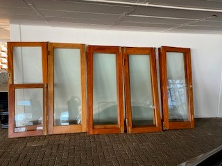 Wood Stacking Doors