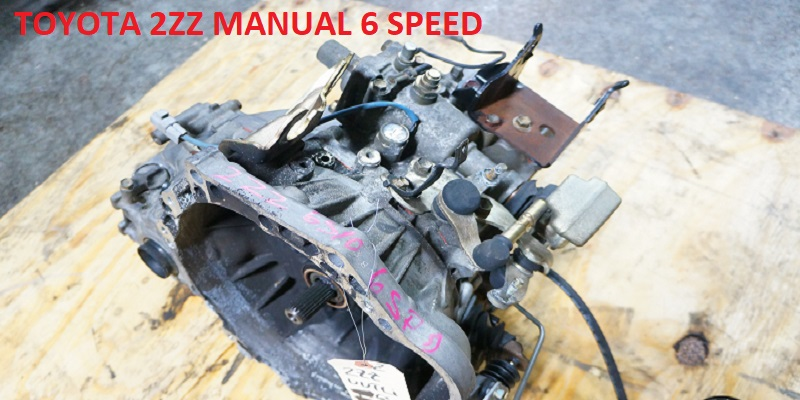 TOYOTA 2ZZ MANUAL 6 SPEED GEARBOX FOR SALE
