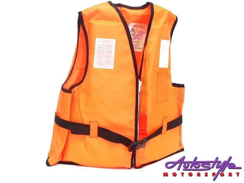 Swimming Life Jacket Orange kids safety life jacket