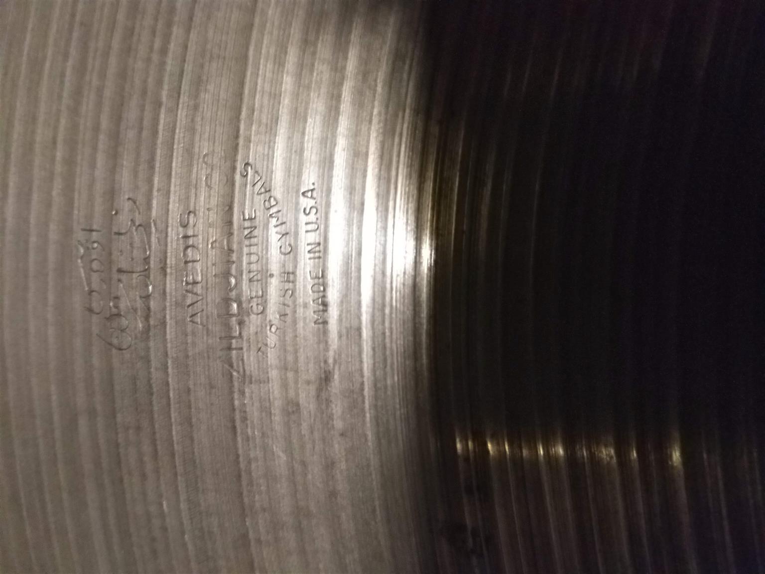 """22"""" Ride Cymbal - Zildjian Avedis"""