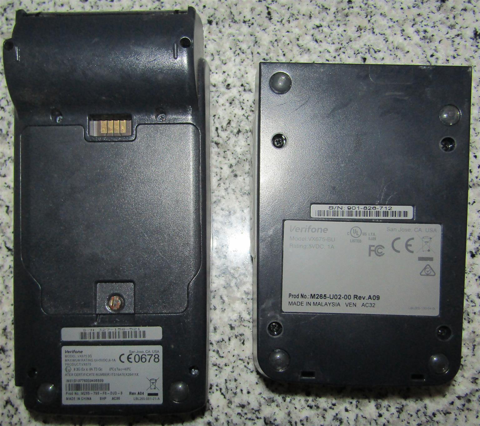 Verifone VX675 Pinpad Till Terminal