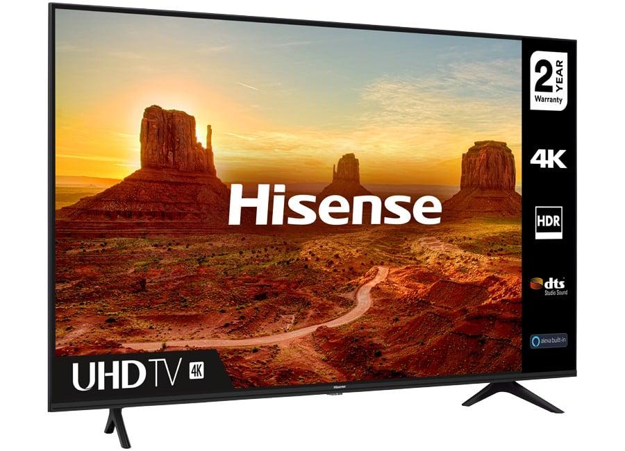 """Brand New Hisense 58"""" Smart Tv"""
