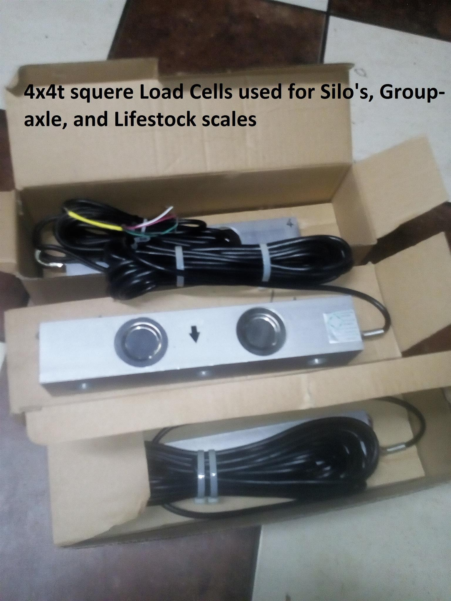 Silo group axle, platform scale lifestock scale 4t-6t loadcells  Micro Indicator A12E display instr