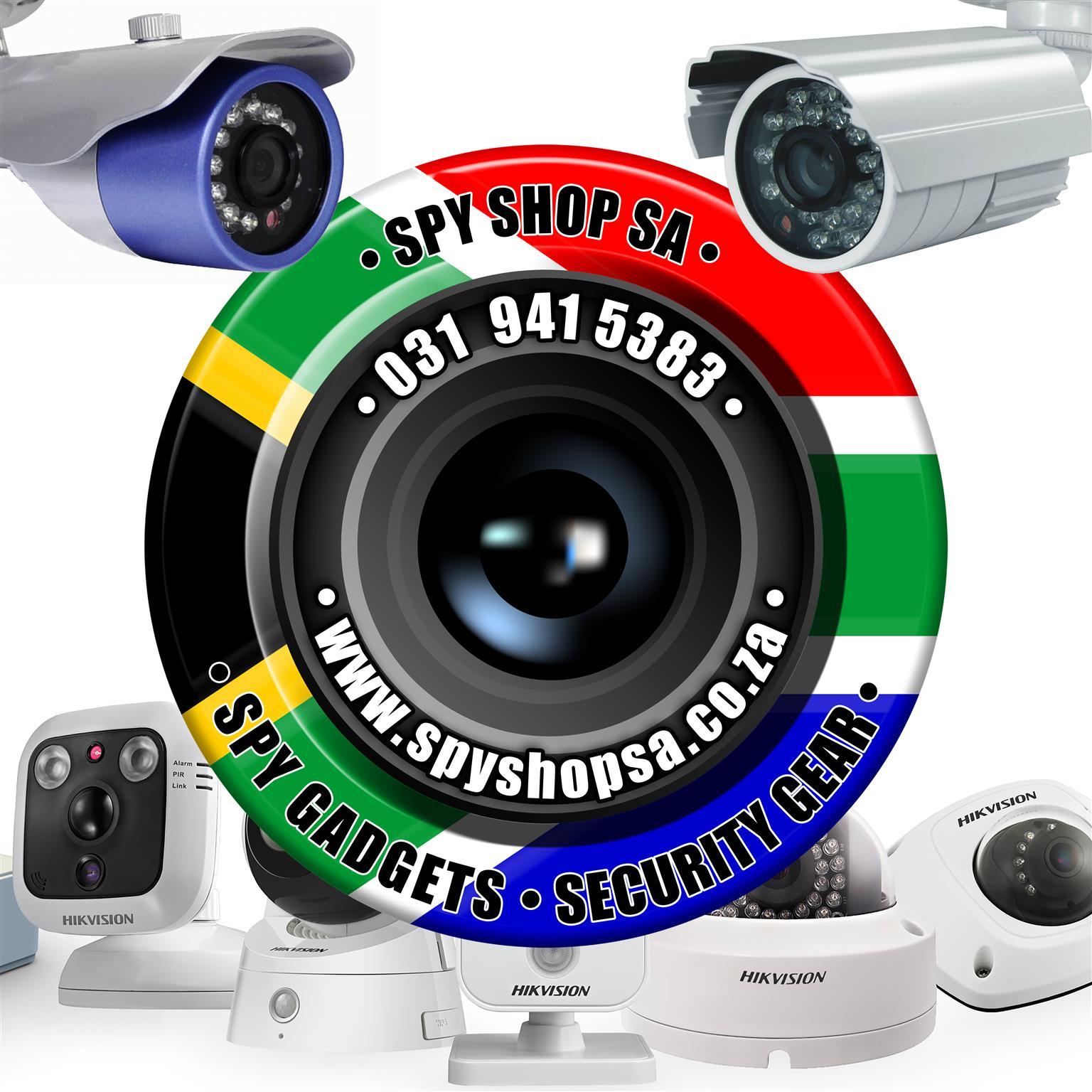 Mini Screw CCTV Camera - Black Friday 2019