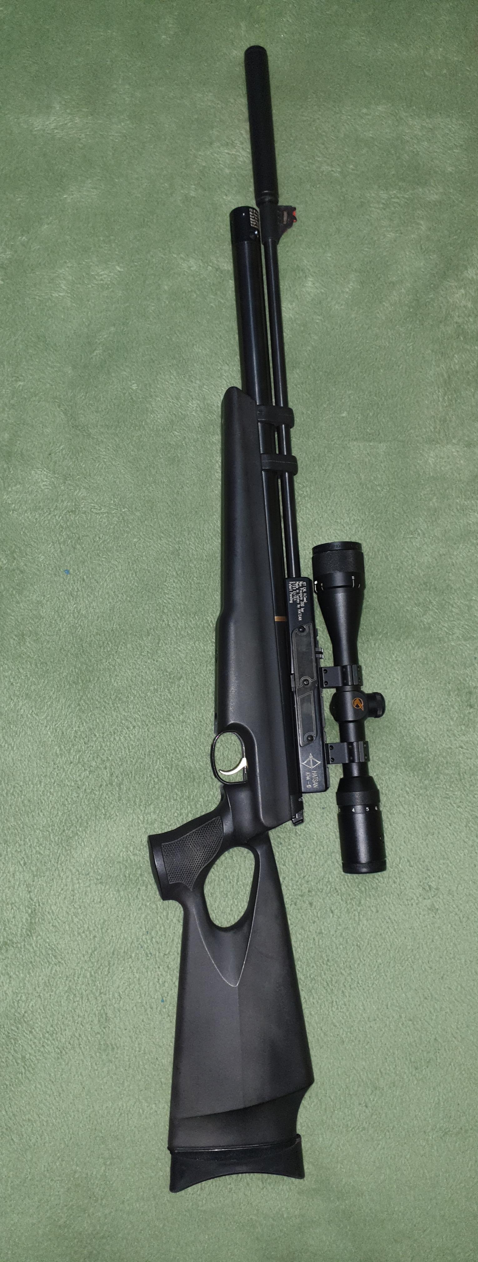 Hatsan AT44-10 PCP Air rifle and Pump