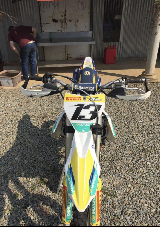 2015 Husqvarna FC 250 Motocross