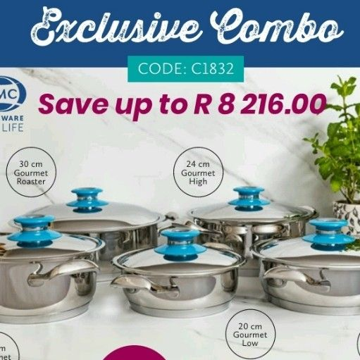 AMC Cookware Exclusive Combo