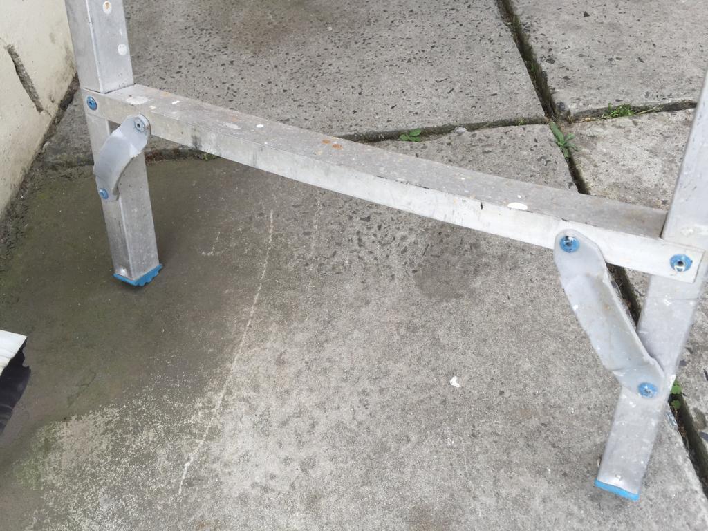 Extra strong  All purpose SA Ladder Aluminium Handy Man's Ladder - SA Ladder