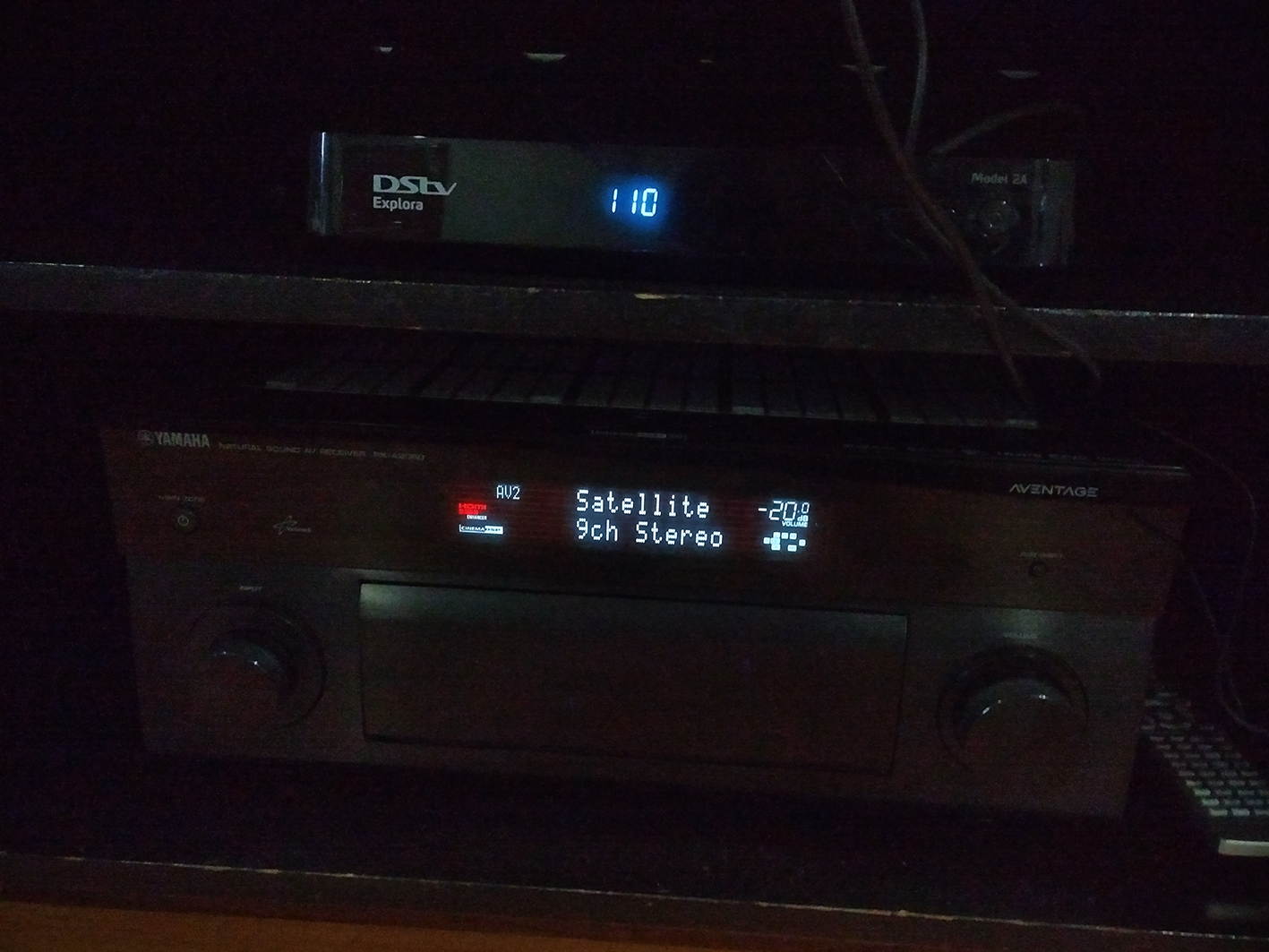 Yamaha RX-2050 AV Receiver