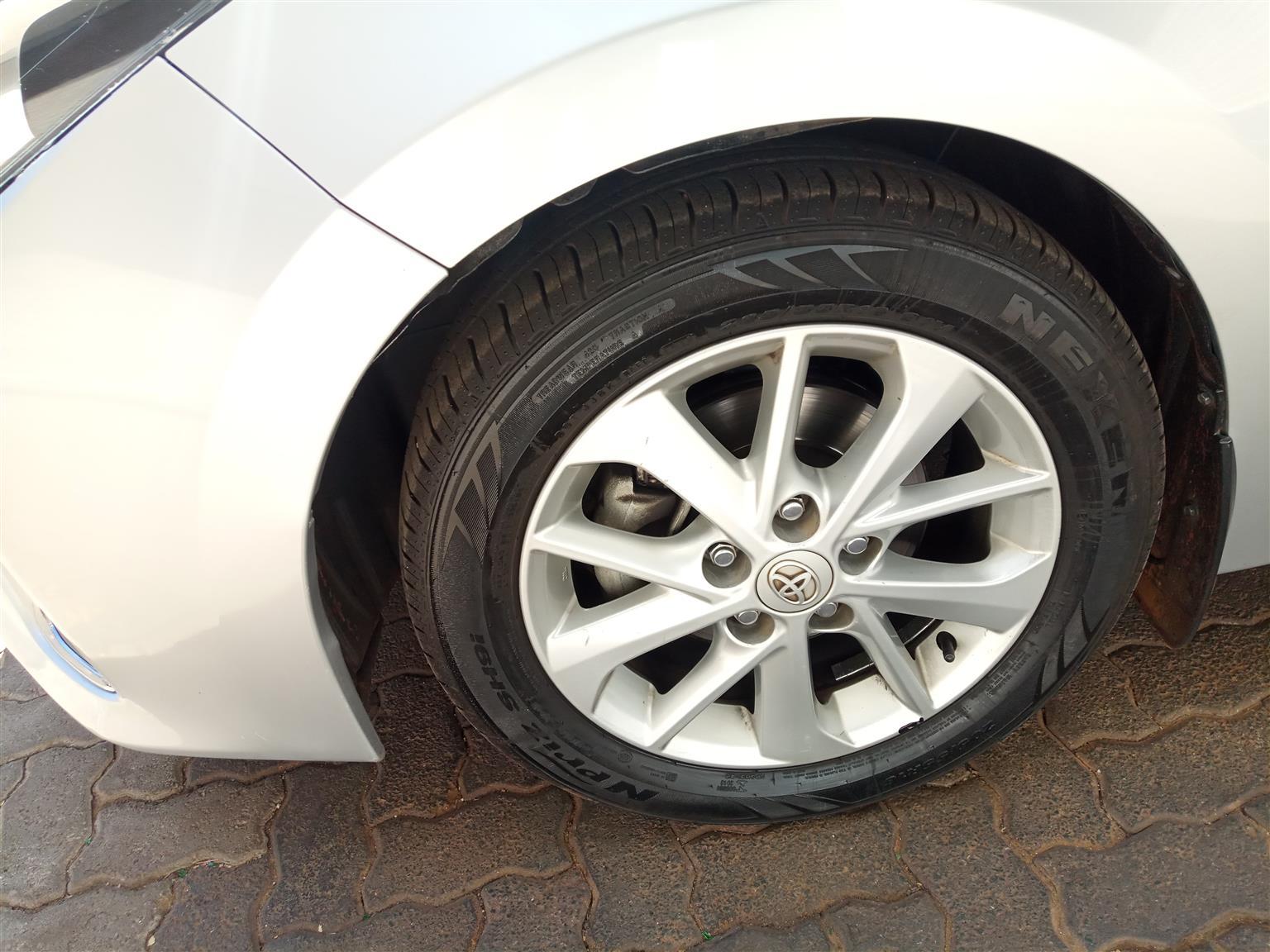 2016 Toyota Corolla 1.8 Advanced