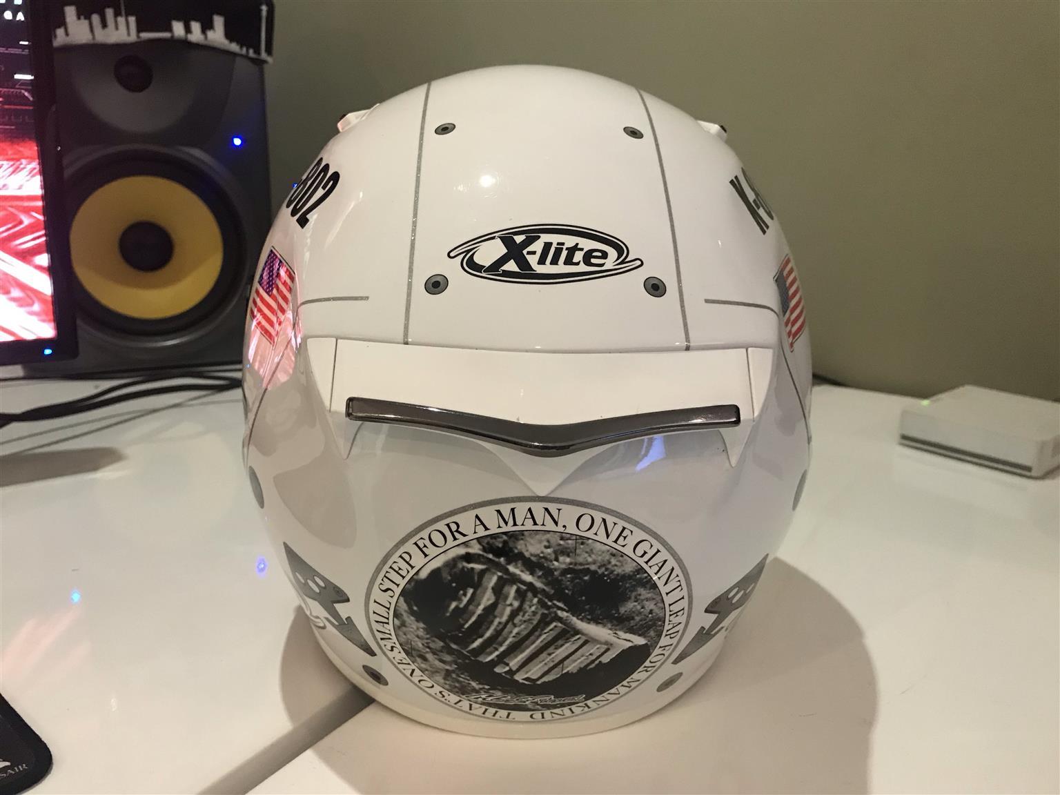 X-Lite X802 Lorenzo Moon Motorcycle Helmet