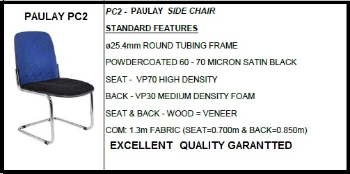 OFFICE SIDE CHAIR PC2