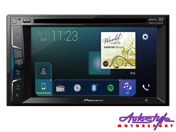 Pioneer AVH-Z205BT Double Din with Bluetooth MultiMedia Player