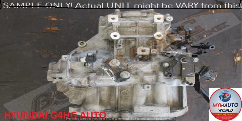 IMPORTED USED HYUNDAI G4HG AUTOMATIC GEARBOX