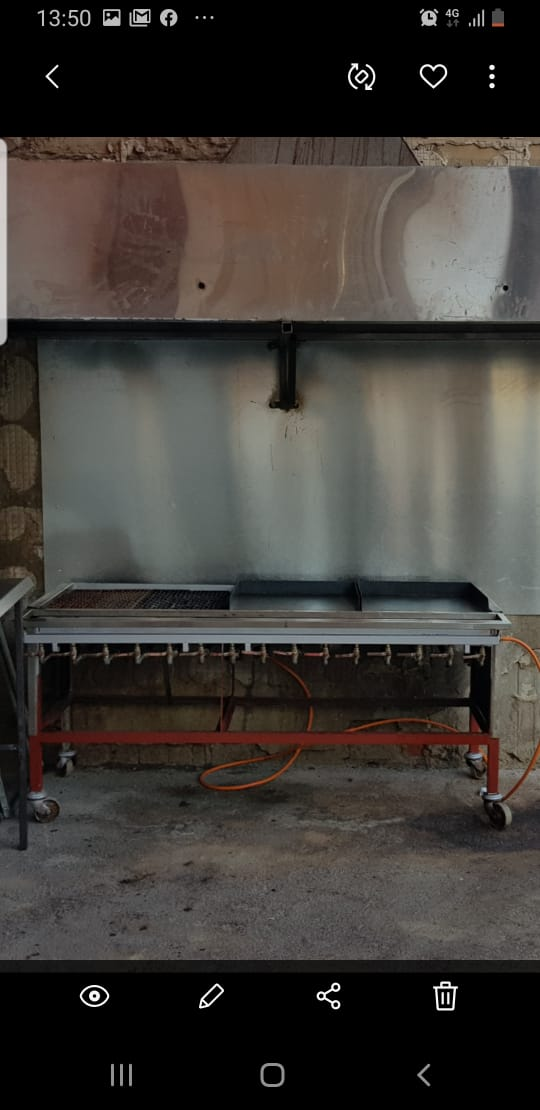 15 Burner Gas Grill for Sale