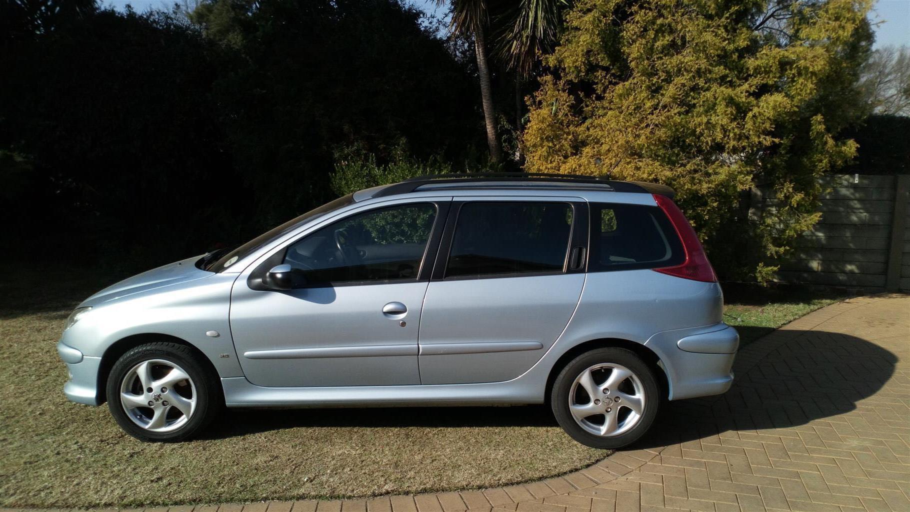 2005 Peugeot 206 1.6 SW XS