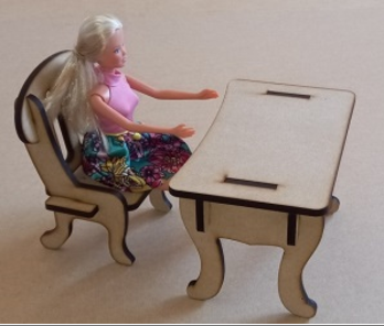 BARBIE DOLL FURNITURE! IDEAL FOR OTHER DOLLS ALSO!