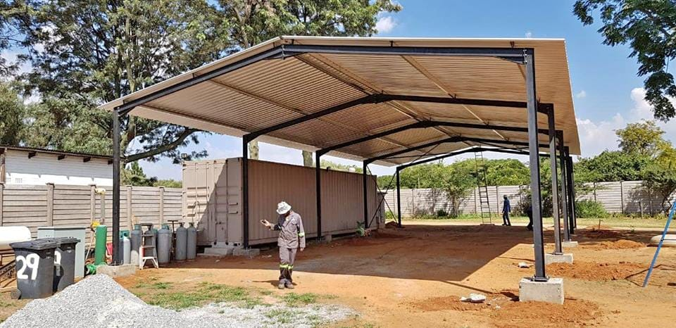 Shadeports Carports and steel structures