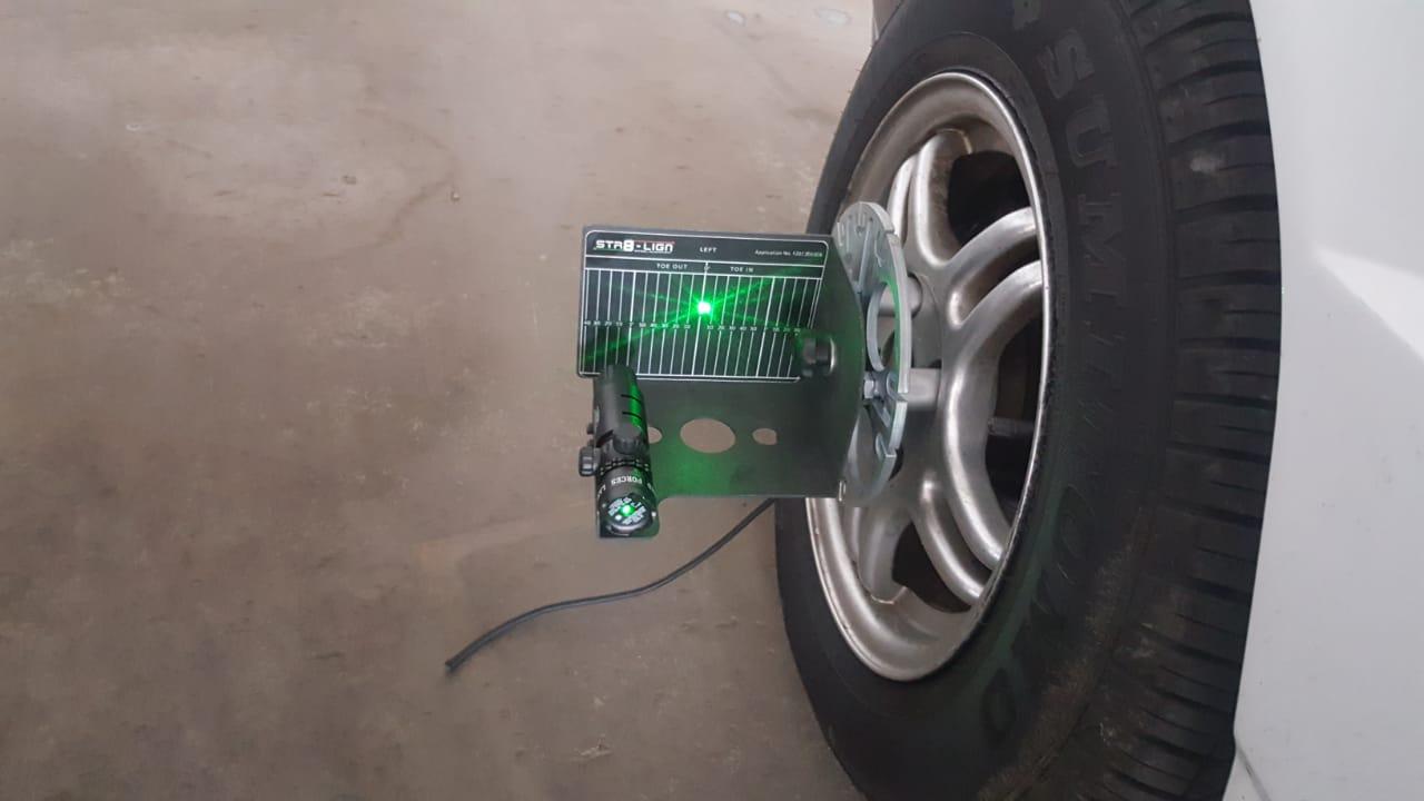 Tyre shop equipment