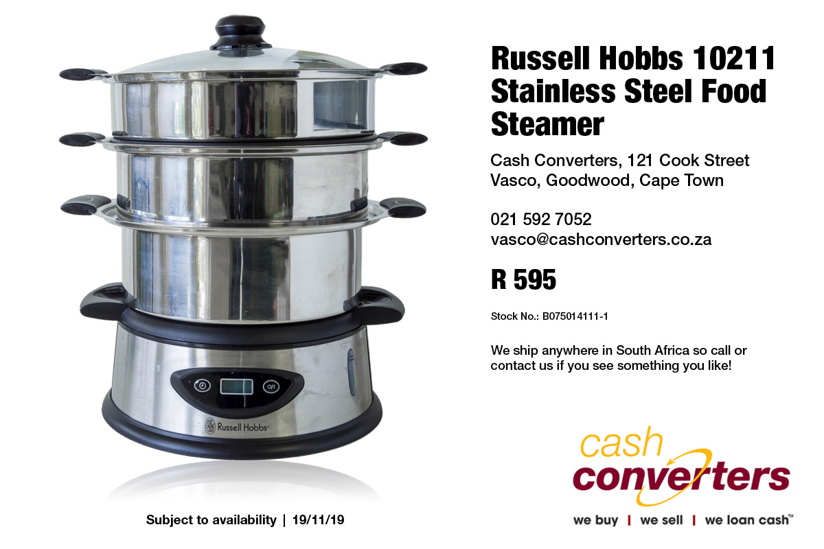 Russell Hobbs 10211 Stainless Steel Food Steamer