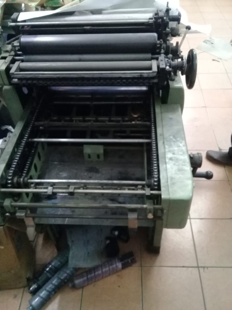 HAMANDA OFFSET PRINTING MACHINE - FOR SALE