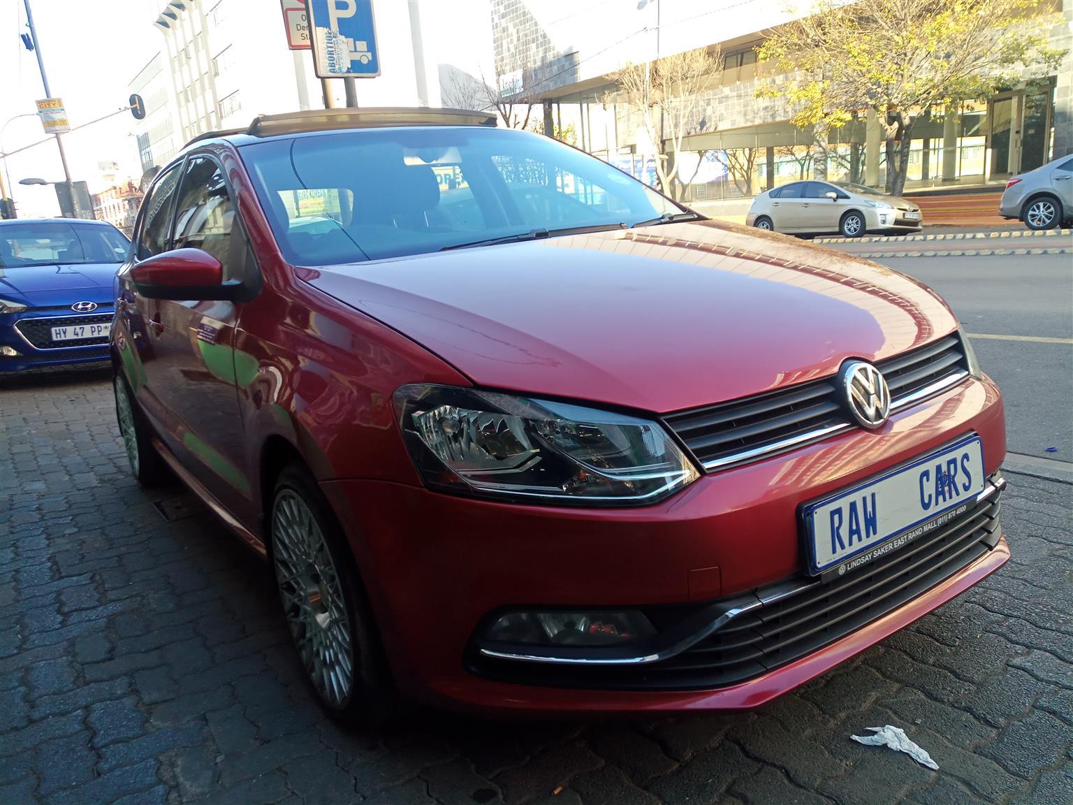 2016 VW Polo 1.2TSI Comfortline