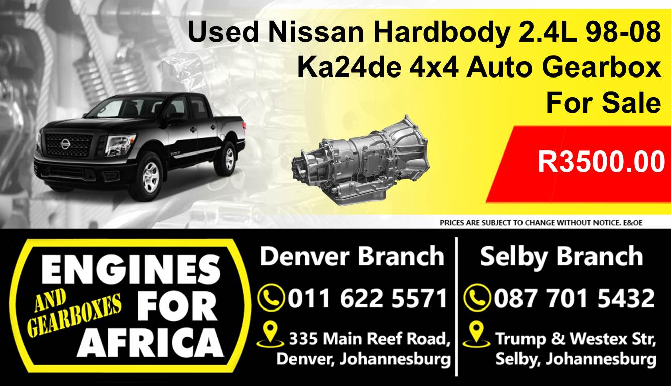 Used Nissan Hardbody 2 4L 98-08 Ka24de 4x4 Auto Gearbox For Sale
