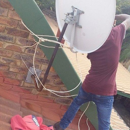 Set light dish installer