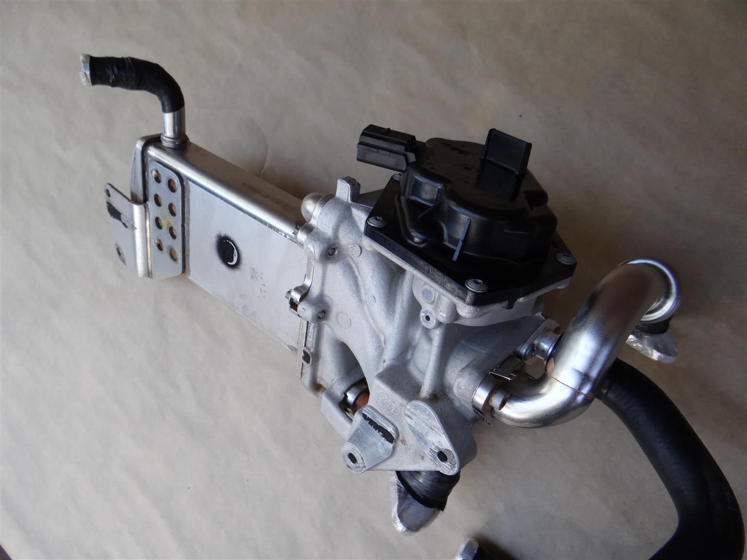Cdc Engine  U2013 Egr Valve And Cooler