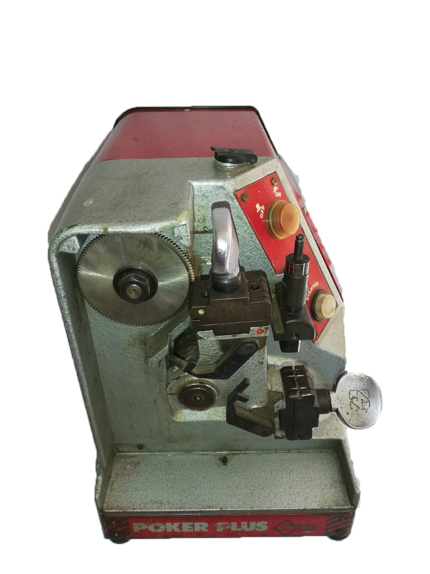 Silca Poker Plus Key Cutting Machine for Sale!